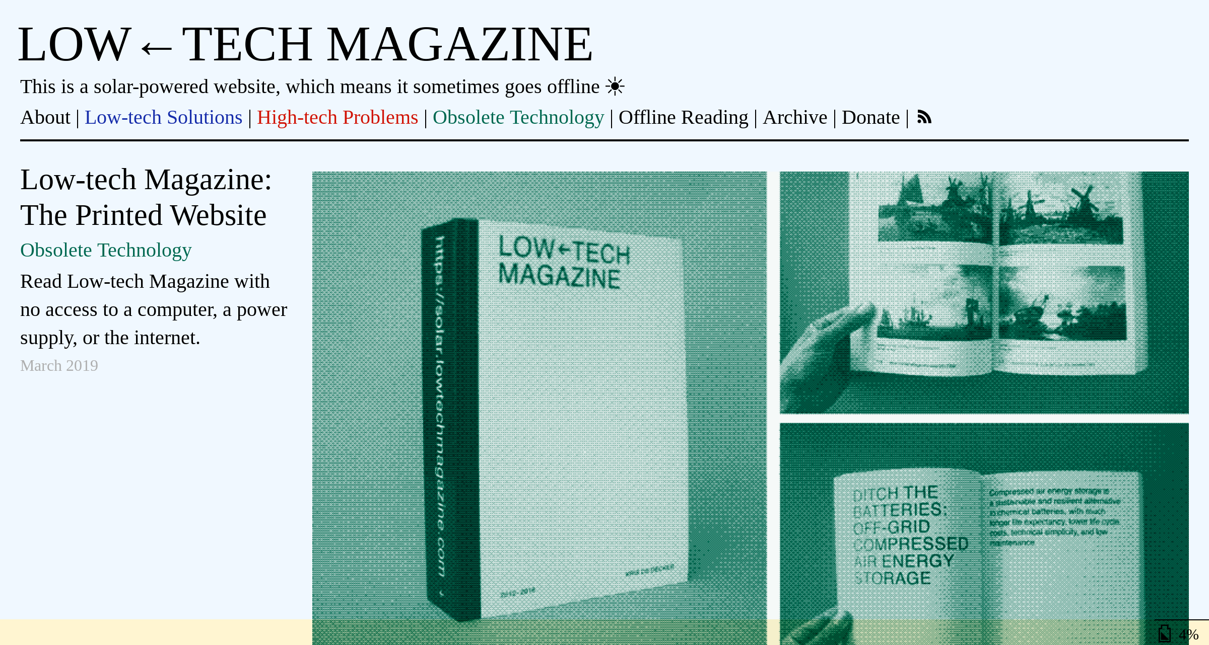 Low-Tech Magazine